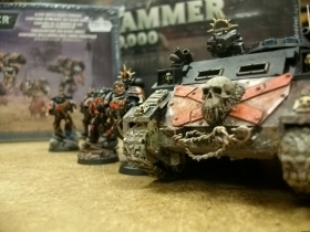 Customer painted Blood Angels